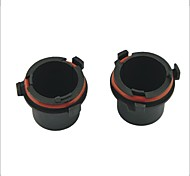 Car HID Bulb Holder Socket Adapter for Opel--2PCS