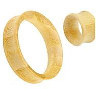 2015 neue unsex baboom Flare Hohlohrstöpsel verjüngen Tunnel Bahre Körperschmuck einen Satz von 2 12 mm