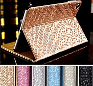 DF Supper Slip Diamante Auto Sleep/Wake Up PU Leather Full Body Case  for iPad mini/mini 2 /mini 3(Assorted Colors)