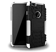 2-in-1 Hit Color Armor Bracket TPU and PC Hard Case for iPhone 6 (Assorted Colors)