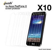 hohe Transparenz matte LCD-Schutzfolie für Asus Padfone x (10 Stück)
