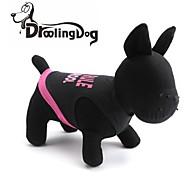 schöne rosa Buchstaben Muster aus 100% Baumwolle Weste für Haustiere Hunde (verschiedene Größen)