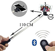 Selfie Extendable Camera Handheld Monopod with Mobile Phone Holder and Bluetooth Remote Shutter for Android 4.2.2