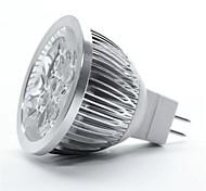 5W GU5.3(MR16) Focos LED MR16 5 LED de Alta Potencia 350-400 lm Blanco Cálido DC 12 V