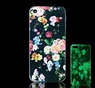 Blumenmuster im Dunkeln leuchten hartes Argument für iphone 4 / 4s
