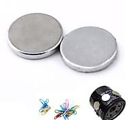 filtro de óleo do carro força super ímãs - prata (2 peças)