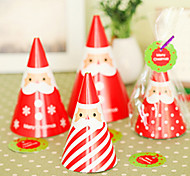 DIY Standing Santa Christmas Card(4PCS)