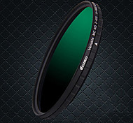 erimai 58mm / 67mm / 77mm / 82mhd filtro impermeable nd2-400 ajustable
