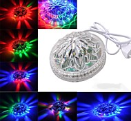Sunflower Stage Light Voice Activated Control 48 LEDs 8 Models Effects RGB Light For KTV Party Wedding Show Club
