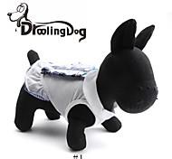droolingdog® schöne Schulmädchen Umlegekragen Stil Kleid für Hunde (farblich sortiert verschiedenen Größen)