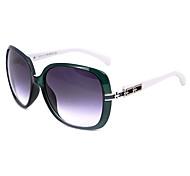 de las mujeres anti-reflectantes de resina de gran tamaño gafas de sol retro