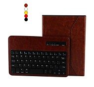 """7.9 """"Qualitäts-PU-Lederetui Bluetooth Tastatur mit Ständer Halter für iPad Mini 1/2/3 (farblich sortiert)"""
