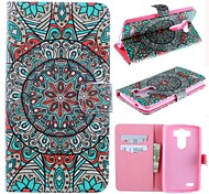 Mysterious Pattern PU Leather Full Body Case for LG G3