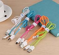 kucipa / k28-v8 dados 2a cabo de carregamento USB iluminação para samsung telefone celular (cores sortidas)