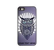 Personalized Phone Case - Hawk Owl Design Metal Case for iPhone 5/5S