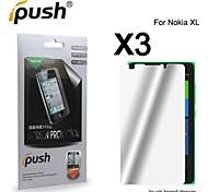 hohe Transparenz Spiegel Displayschutzfolie für Nokia XL (3 Stück)