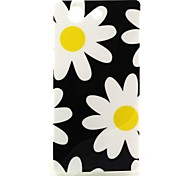 For Sony Case / Xperia Z3 Pattern Case Back Cover Case Flower Soft TPU for SonySony Xperia Z3 / Sony Xperia Z3 Compact / Sony Xperia M4