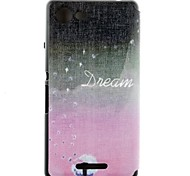Charming Dandelion Pattern PU Leather Full Body Case with Card Slot for Sony Xperia E3 D2203 D2206
