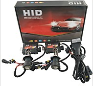 Carking ™ 12V 35W H4 H / L 6000K White Light Kit Xenon HID