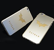 Batman  Style Plastic Hard Back Cover for iPhone 6