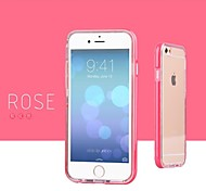 Flashing Light Two-Piece Outfit Soft Case for iPhone 6 (Assorted Colors)