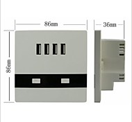 4 USB Charging Interface Socket 3000 Ma Charging Current Meet More Charge Demand