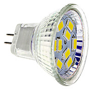 4W GU4(MR11) LED Spotlight 9 SMD 5730 430 lm Warm White / Cool White DC 12 V