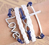 Woven Small Accessories Metal Bracelet B523