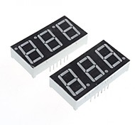 compatível (por arduino) de 3 dígitos de 12 pinos módulo display -. 0.56in (2pcs)