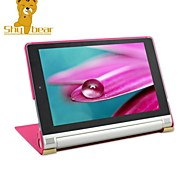 "Shy Bear™ Leather Cover Stand Case for Lenovo Yoga 2 8 830 830F 8"" Tablet"