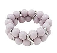 Women'sFashion Exquisite Paint Glass Bracelets(Random Color)