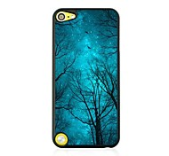 The Forests of the Night Sky Leather Vein Pattern Hard Case for iPod touch 5