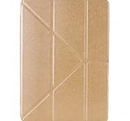 de protection en cuir PU cas complète du corps avec support pour iPad 2 (air couleurs assorties)
