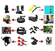 8-in-1 kit di accessori per GoPro hero4 / 3 + / 3 fotocamera