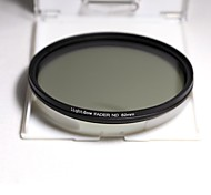 Lightdow 82MM Slim ND Filters Fader Variable Adjustable ND2 to ND400 ND Neutral Density Filter Optical Glass