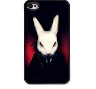 Rabbit Design Aluminum Hard Case for iPhone 4/4S