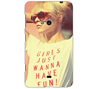Girls Just Wanna Have Fun Design Hard Case for Nokia N625