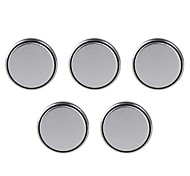 Panasonic CR2032/DL2032 3V Lithium Cell Button Batteries (5 PCS)