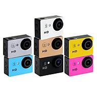 "HD720p eoscn a8 hd impermeável 2/3 ""CMOS 5.0MP câmera de esportes com 1,5 ltps lcd bateria / 900mAh"