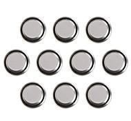 KuLei AG4/L626/SR626SW/LR66/377A 1.55V Alkaline Cell Button Batteries (10 PCS)
