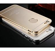 KX Brand Metal Frame Full Metal Backboard Metal Hard Case for iPhone 6 Plus(Assorted Colors)