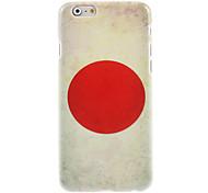 Japan Flag Design Hard Case for iPhone 6