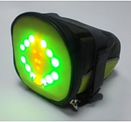 BIKEMAN™ Remote Control LED Light-up Warning Bicycle Saddle Bag