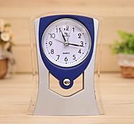 relógio de moda retro personalidade luz de alarme (entrega aleatória)