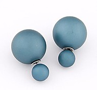 European Style Beads Wild Temperament Simple Earrings