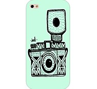 Camera Pattern Hard Back Case for iPhone 5/5S
