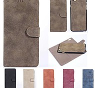 Retro Matte Pattern Two-in-One PU Leather Full Body Cases for iPhone 6 (Assorted Colors)
