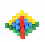 Unlock Colorful Wooden Puzzle Toy
