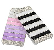 Luxury Crystal Rhinestone Diamond Bling ABS Plastic Ultralight Case for iPhone 5/5S (Assorted Colors)