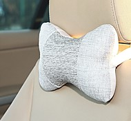 LEBOSH® Automotive Linen Headrest Comfortable Lovely 2PCS